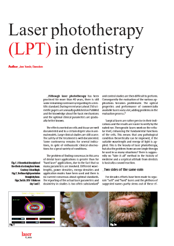 Laser Phototherapy in Dentistry